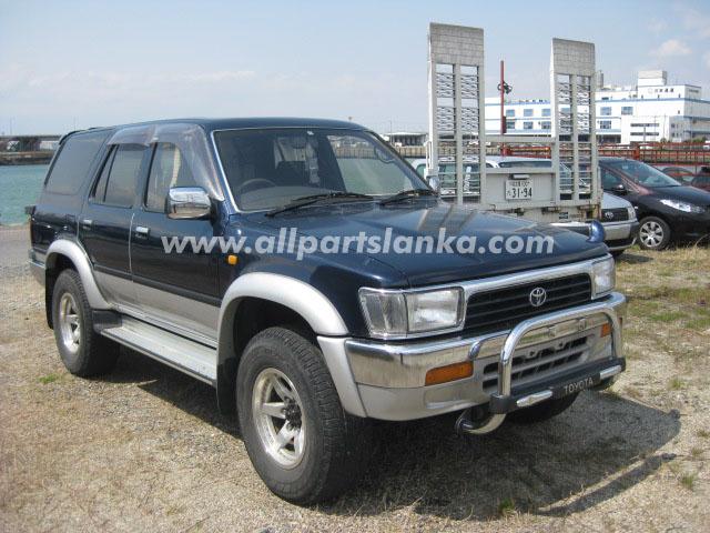 1993 Toyota Hilux Surf Spare Parts